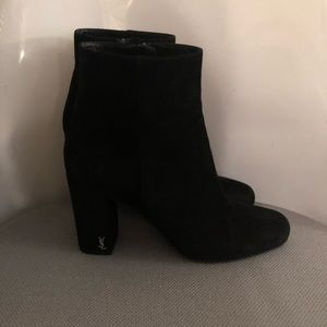 Saint Laurent Suede Bootie